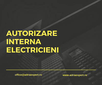 autorizare interna electricieni